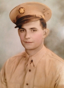 my grandfather Louis, WWII veteran & inspiration