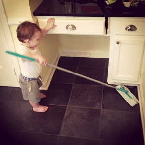 wade's first test run of the swiffer months back
